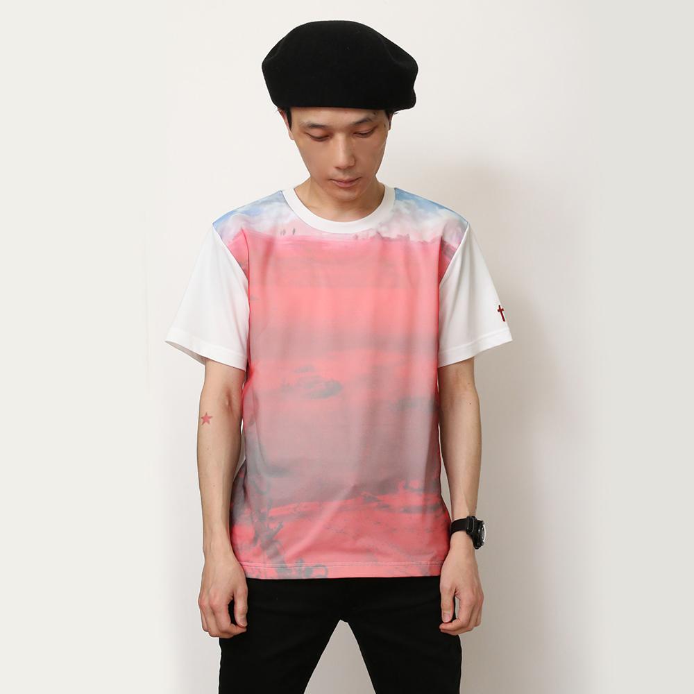 EVANGELION Organdy T-Shirts (ホワイト)  / RADIO EVA