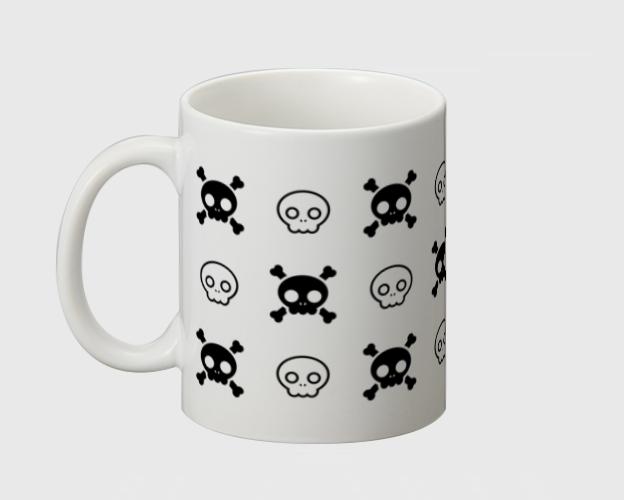 「キュートスカル3」マグカップ