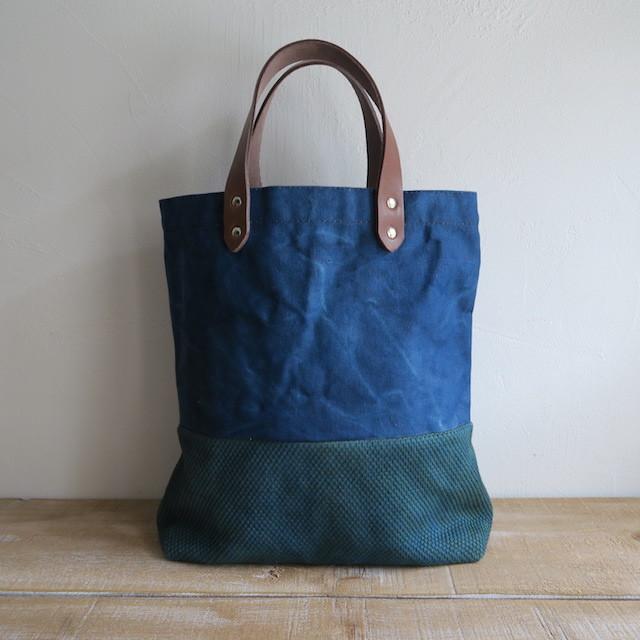 藍染のトートバッグ