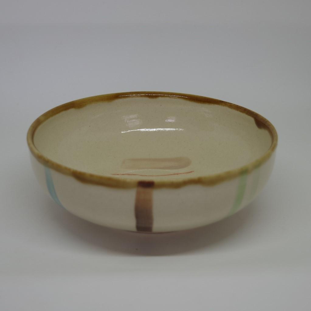 やちむん【土工房陶糸】5.5寸深鉢