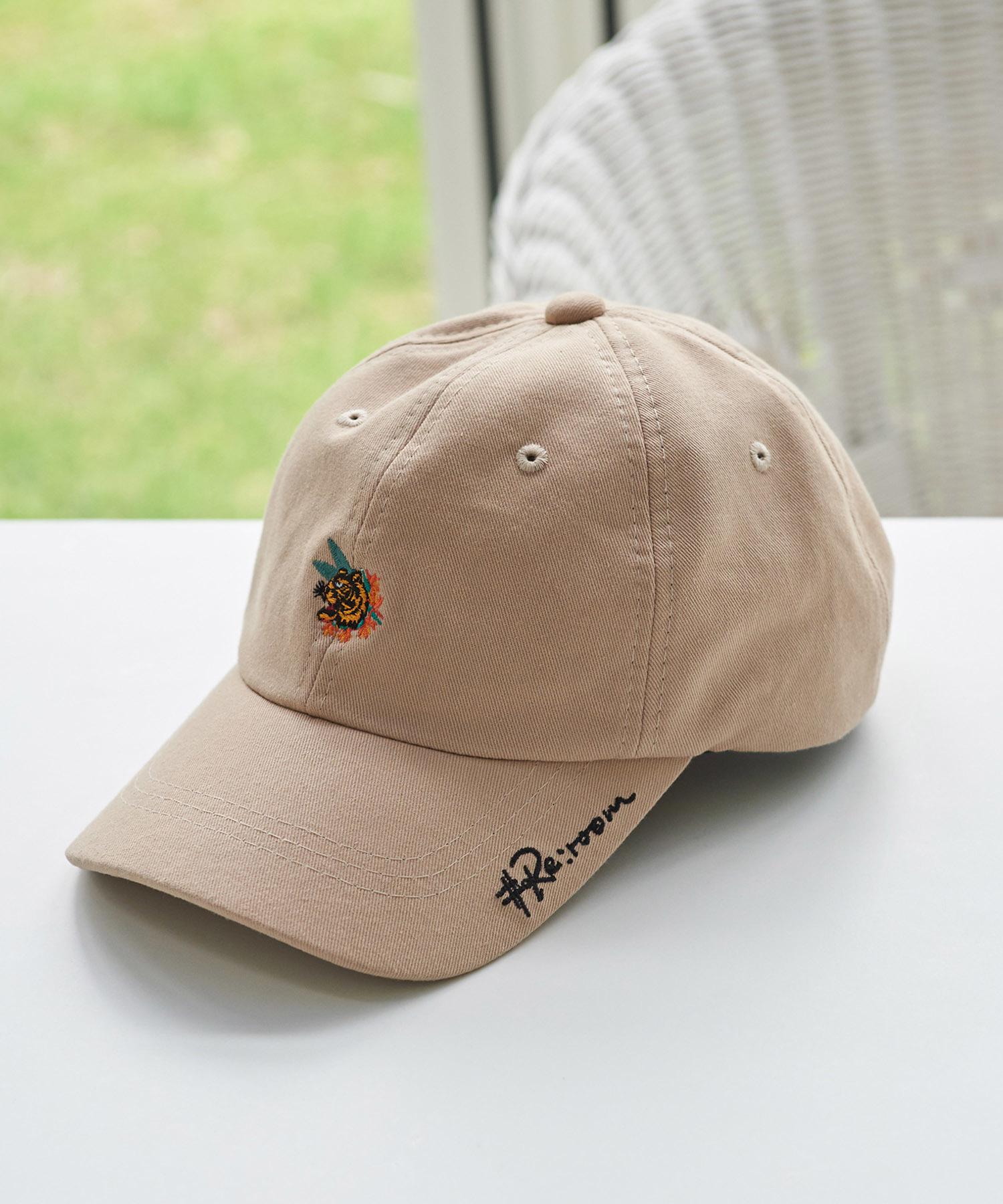 TIGER LOGO TWILL CAP[REH058]