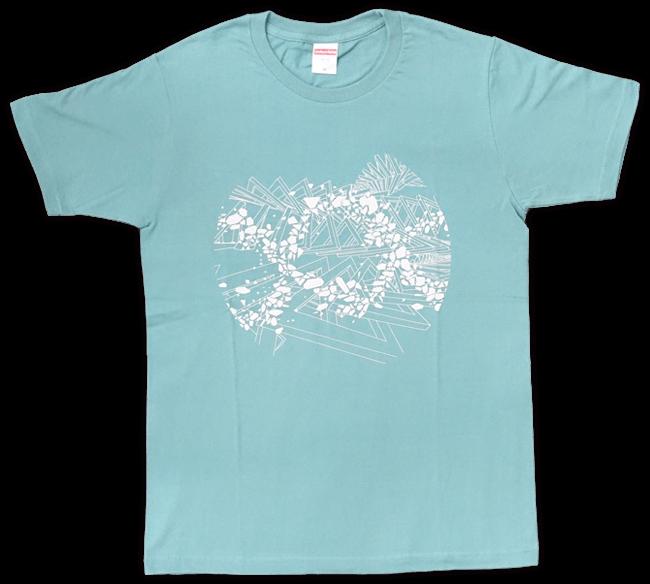 DUB SQUAD - MIRAGE Tシャツ(グリーン) - 画像1