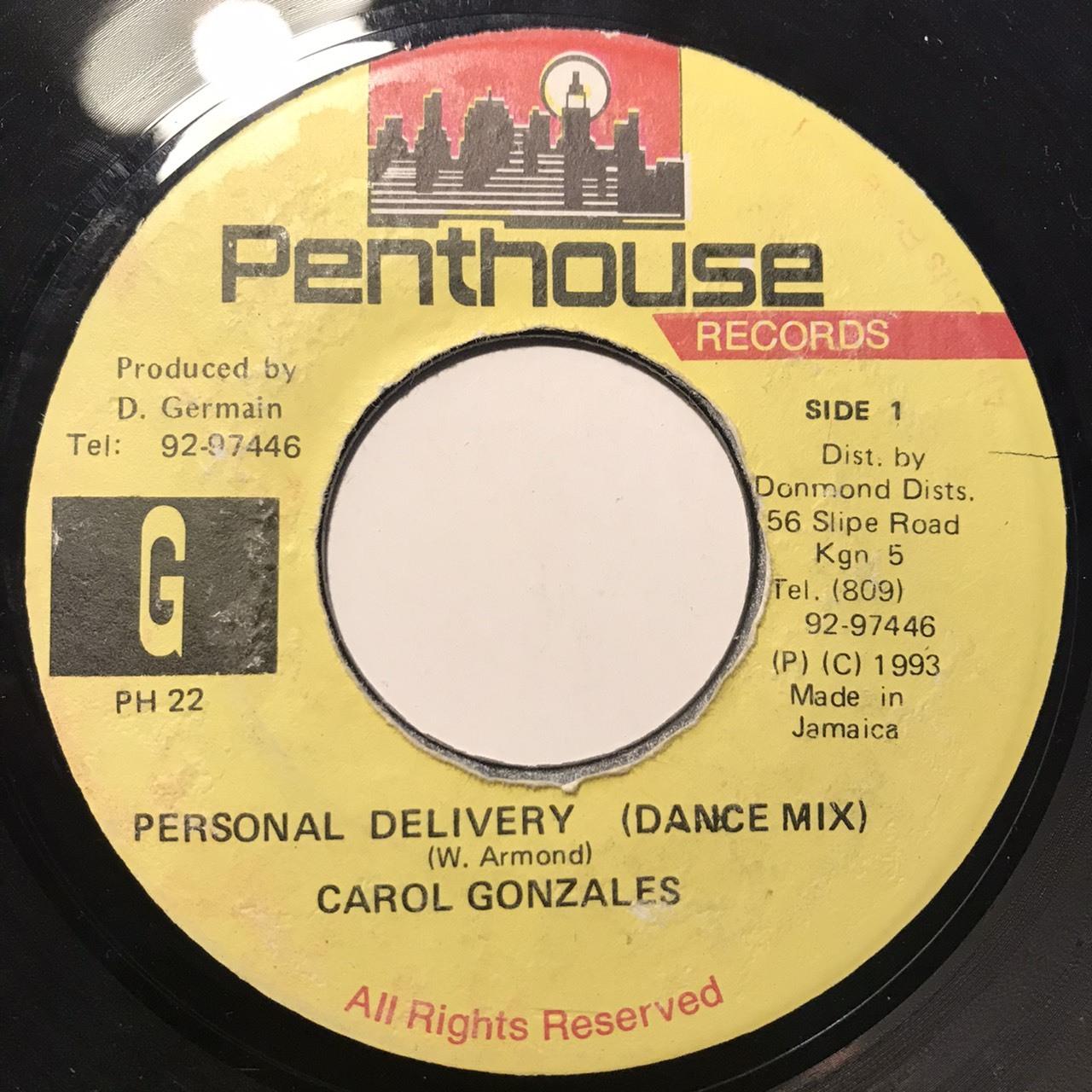 Carol Gonzales - Personal Delivery 【7-10802】