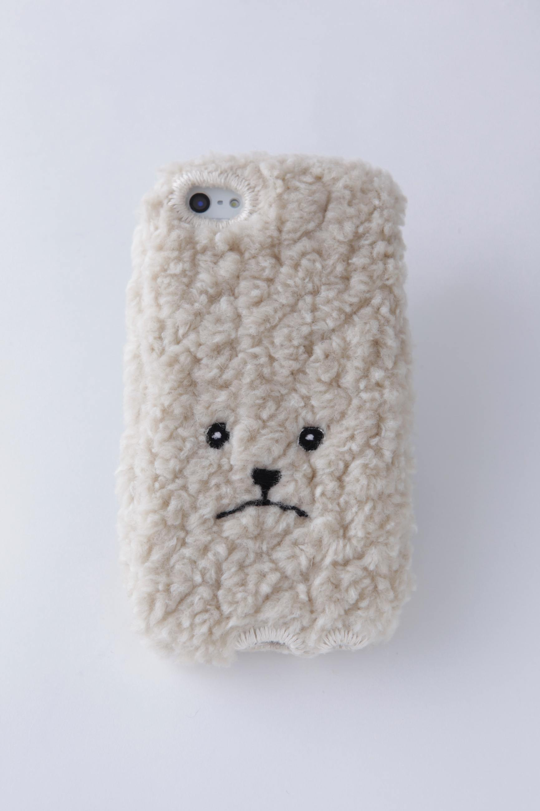 【KEORA KEORA】トイプードルiPhone6/6sカバー(ベージュ)