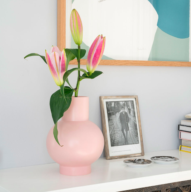 Raawii Strøm Vase (L) Pink