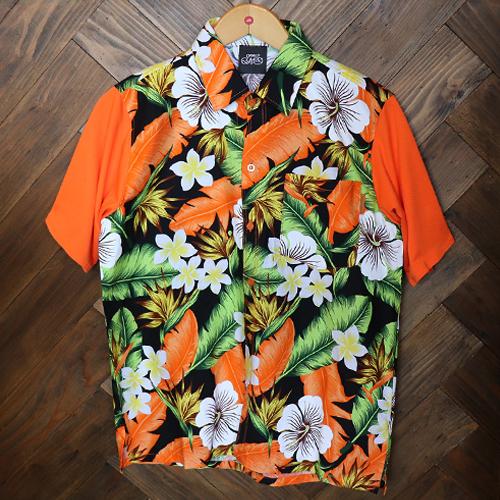 リメイクアロハシャツ 半袖 / オランダ   SINE METU