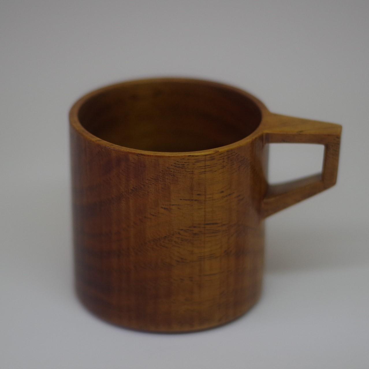沖縄の木工【あさと木漆工房】マグカップ