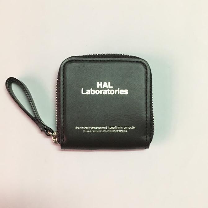 UCV4C02 : レザーZIP小銭財布 HAL Lab