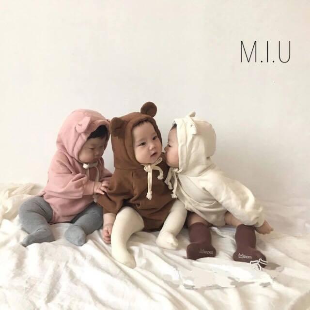 くま耳ロンパース #MIU640