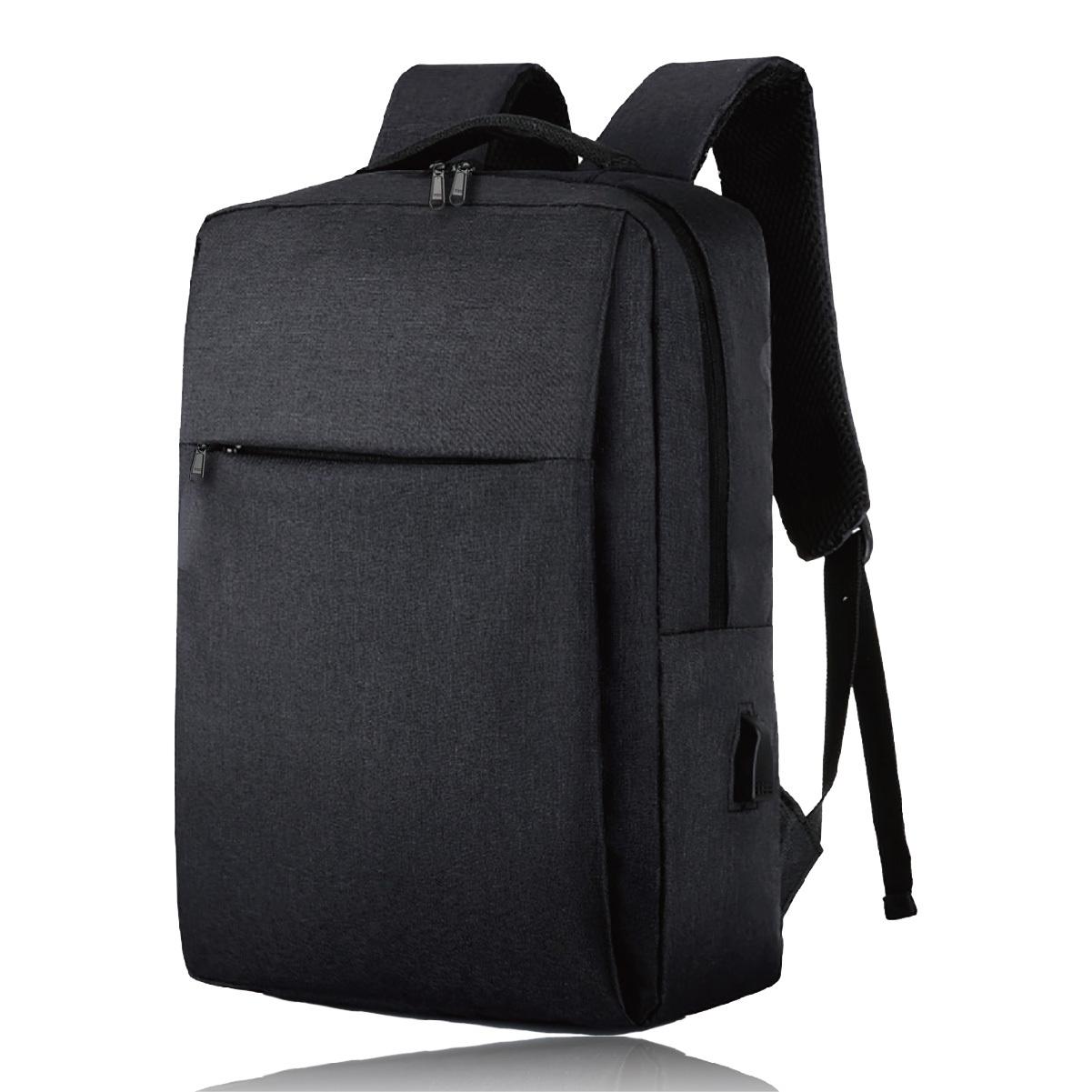 FOX FOUND ビジネスリュック USBポート デイパックスリム リュック バックパック メンズ ビジネス 防水 15.6インチ ノート PC 収納 ブラック