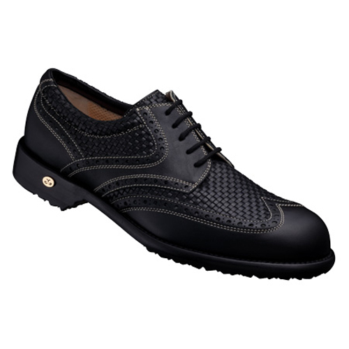 【Men's】 GETSBY black-woven 27.5cm