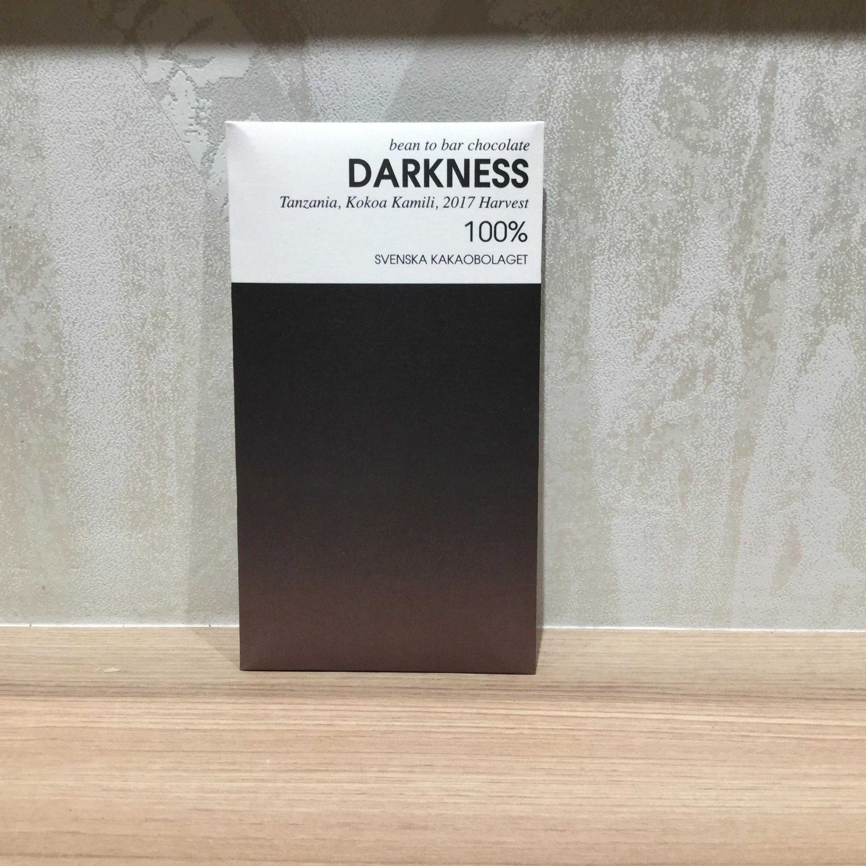 【SVENSKA kakaobolaget/スヴェンスカカカオボラゲ】100%ダークネス