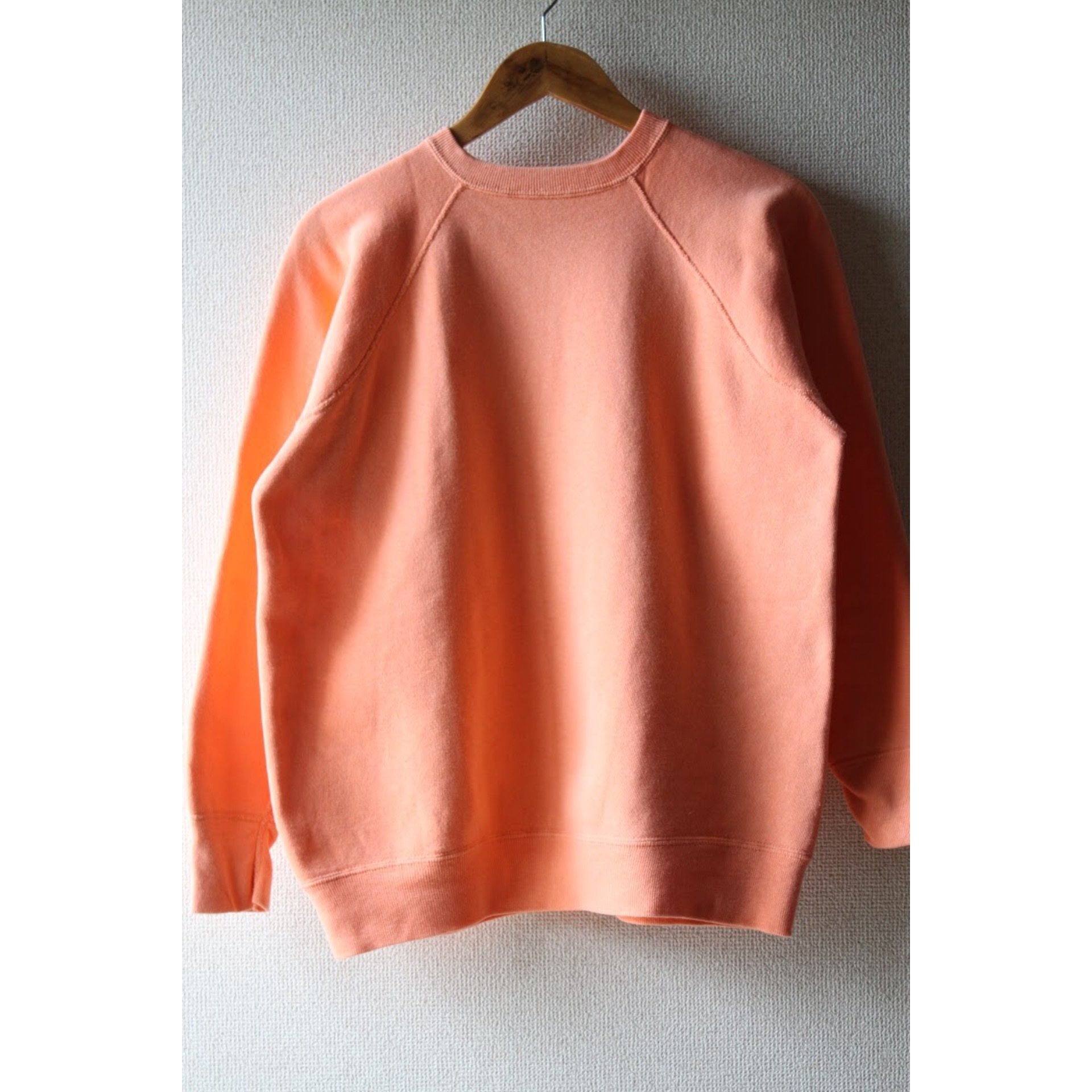 60s Vintage salmon pink sweater