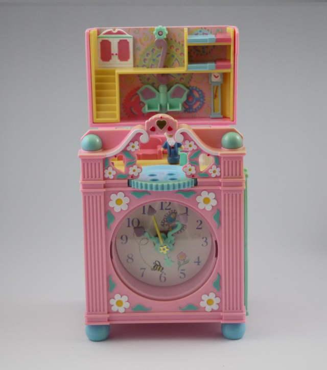 ポーリーポケット ファンタイムクロック 1991年 ピンクの時計