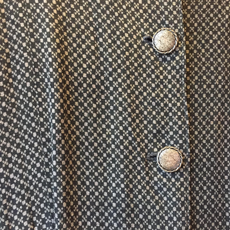 vintage button onepiece