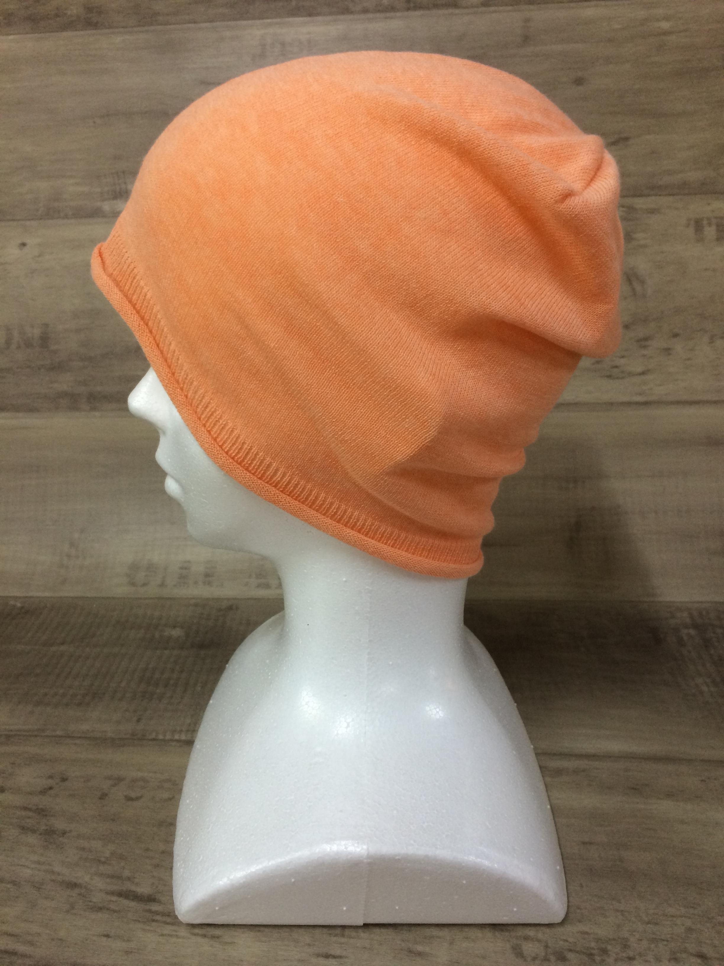 【送料無料】こころが軽くなるニット帽子amuamu|新潟の老舗ニットメーカーが考案した抗がん治療中の脱毛ストレスを軽減する機能性と豊富なデザイン NB-6058|夕張メロン <オーガニックコットン アウター>