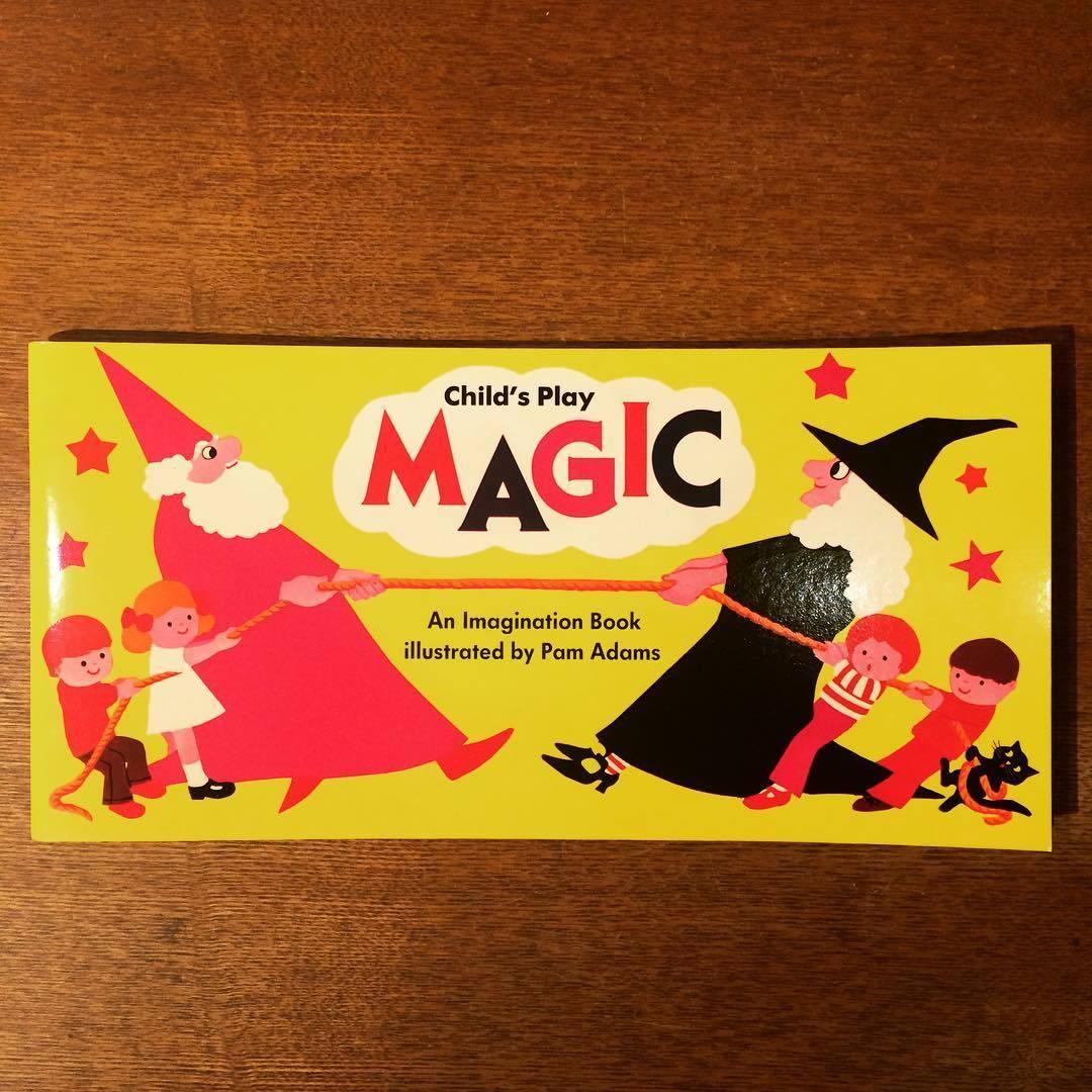 パム・アダムス絵本「Magic (Child's Play)/Pam Adams」 - 画像1