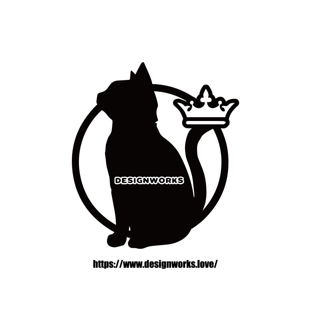 全10色 名前入り 猫 ロング 長毛  CAT ON BOARD  ステッカー