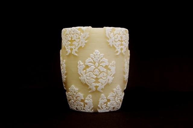 Orchid Vase/White