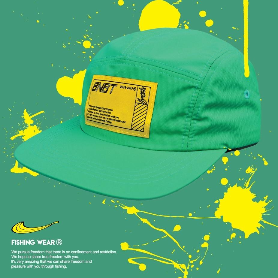 【Banana Bait】W/R Camp Cap Waterproof Fishing Hat / Green