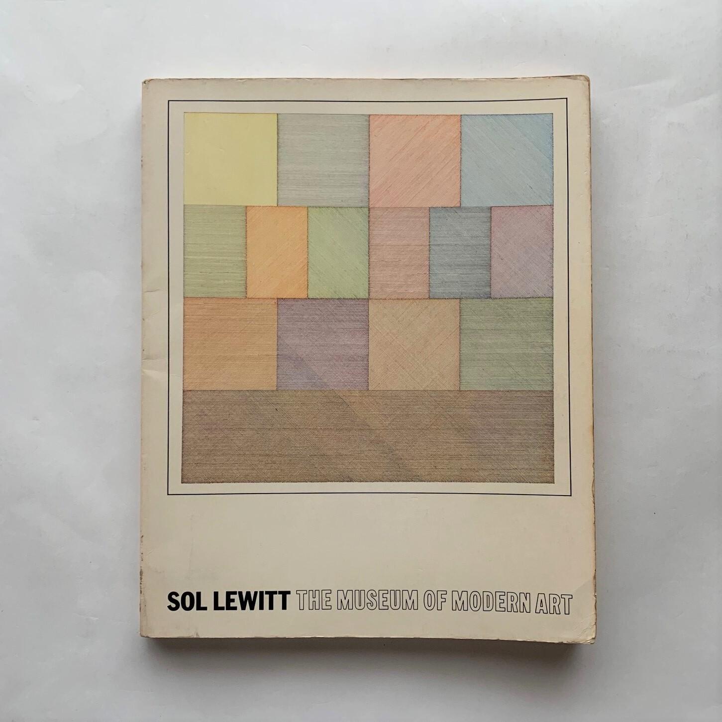 SOL LEWITT THE MUSEUM OF MODERN ART  /  ソル・ルウィット