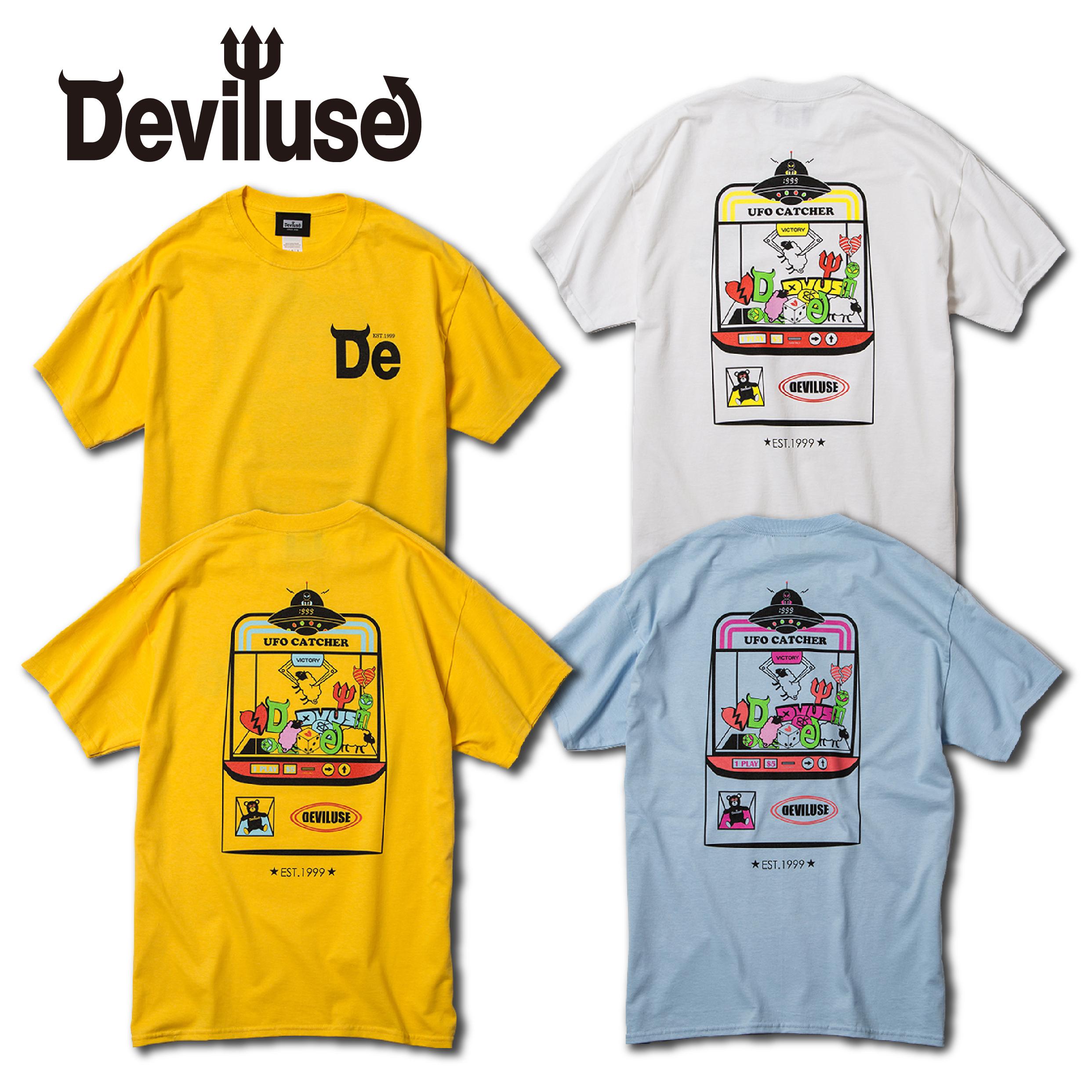 Deviluse(デビルユース) | UFO CATCHER T-shirts