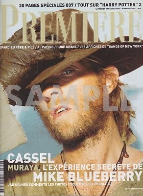 5053 PREMIERE(フランス版)309・2002年11月・雑誌