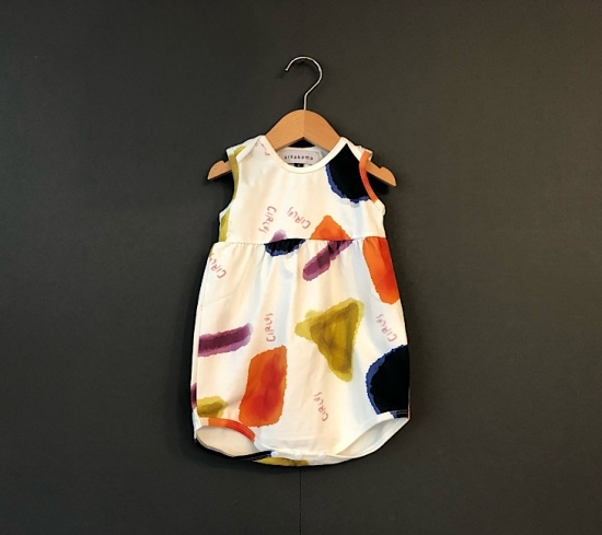 arkakama アルカカマ BABY TankTop BODY (PARTYPARTY)   size:6-12m(約70㎝)