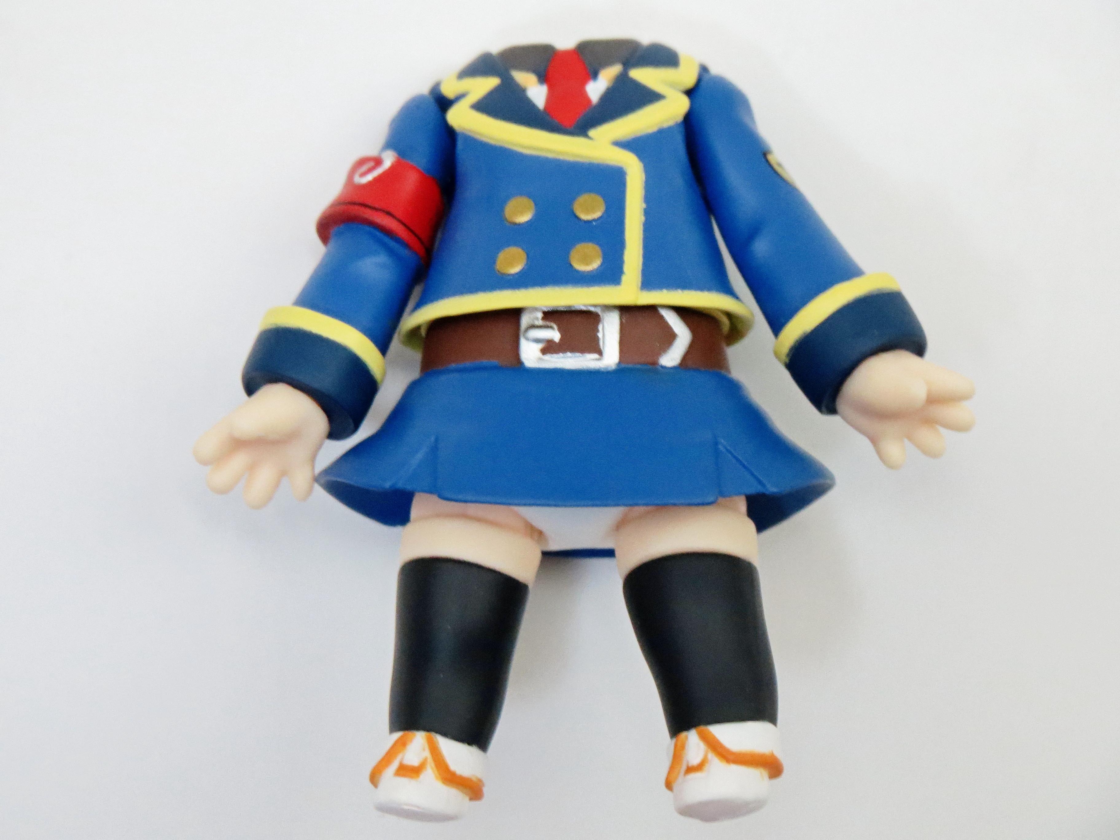 【226】 明智小衣 体パーツ 警官服 ねんどろいど