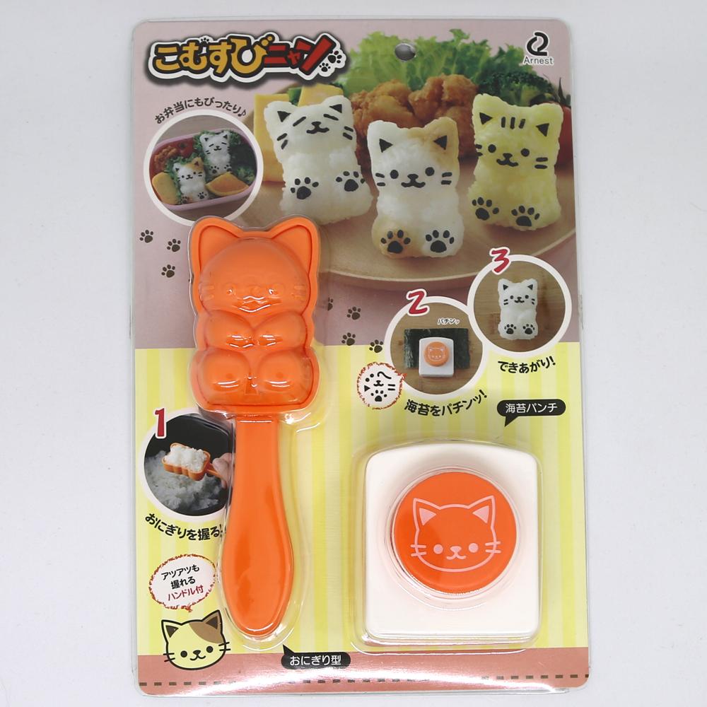 猫おむすび型(こむすびニャン)