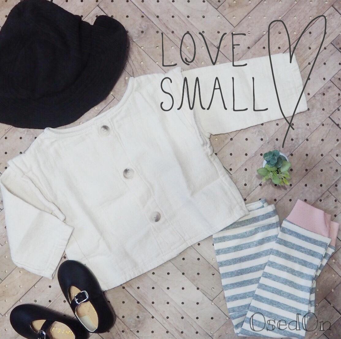 【LOVE SMALL】サイズ出来ました♪