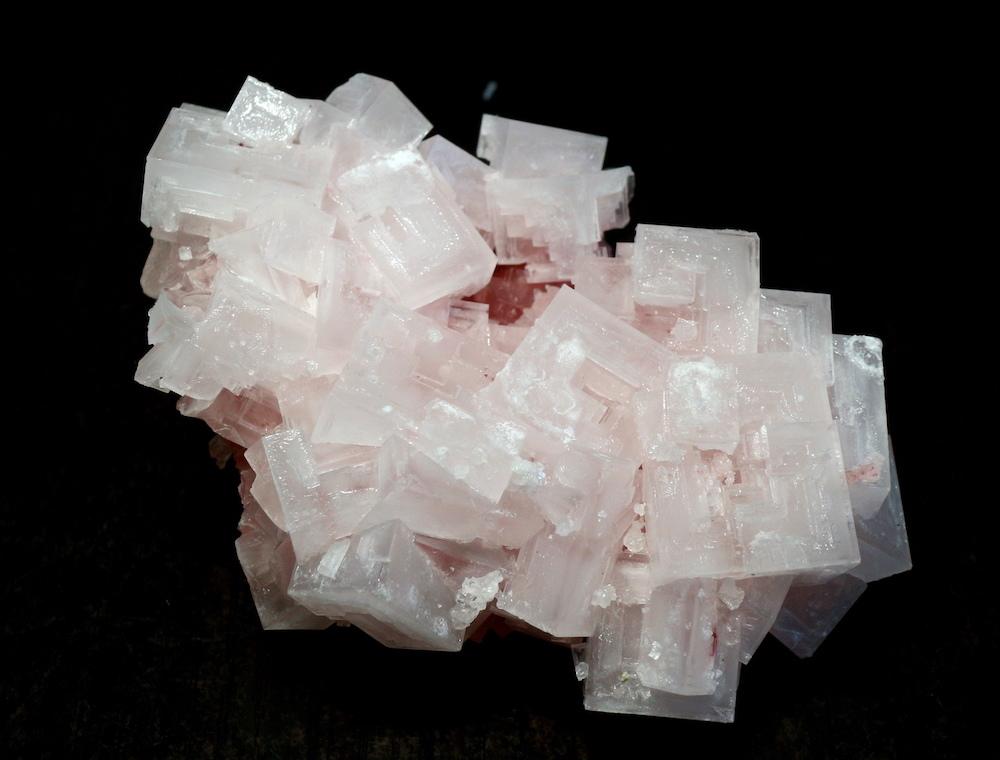 ピンクハーライト カリフォルニア産 74g 岩塩 PH036