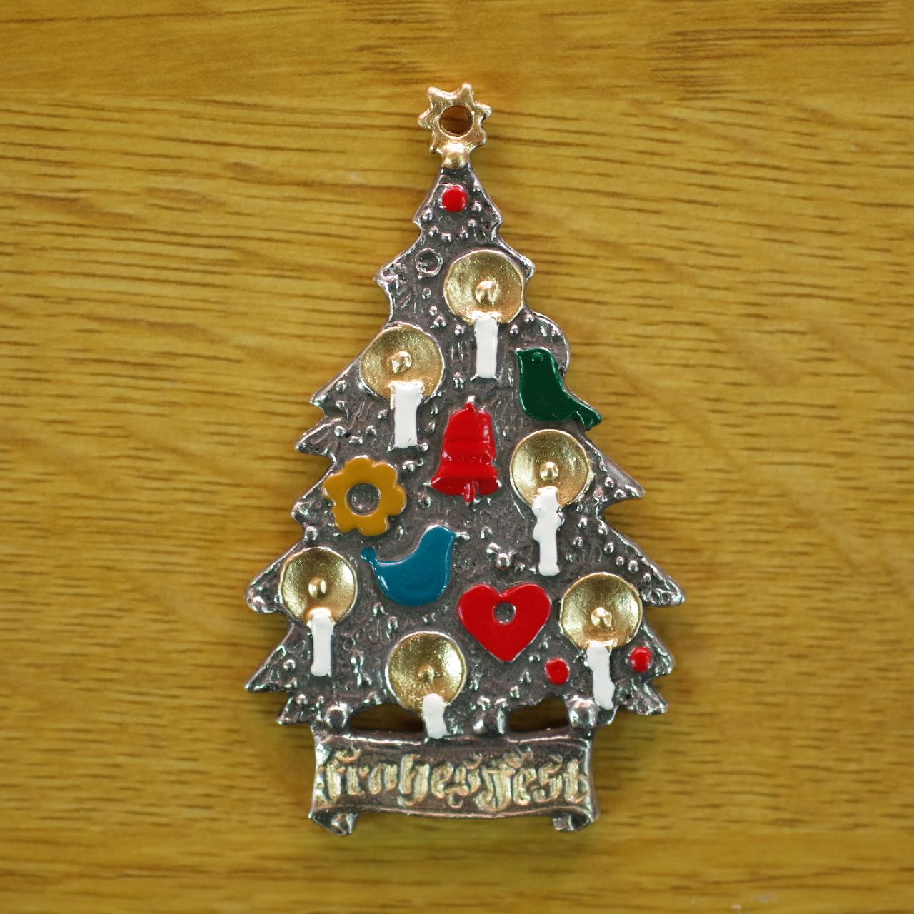 錫の飾り クリスマスツリー