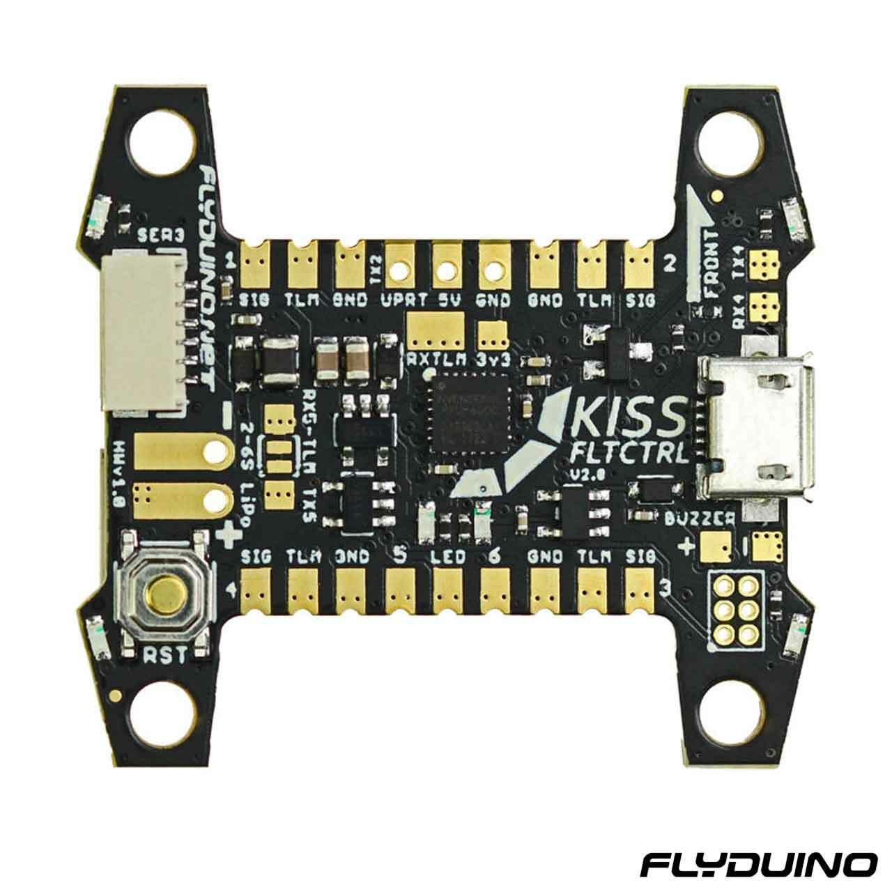 FLYDUINO KISS FC V2 - 32BIT FLIGHT CONTROLLER