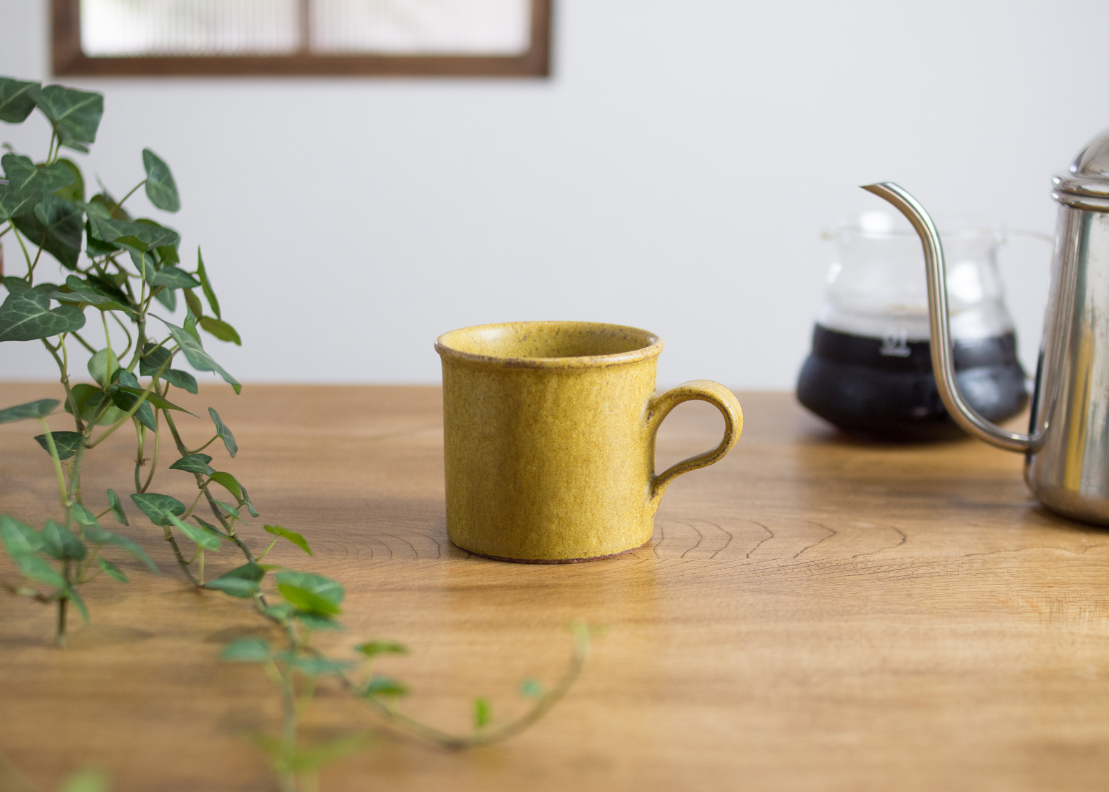 SHIROUMA コーヒーカップ 芥子色(マグカップ)/長谷川 哲也
