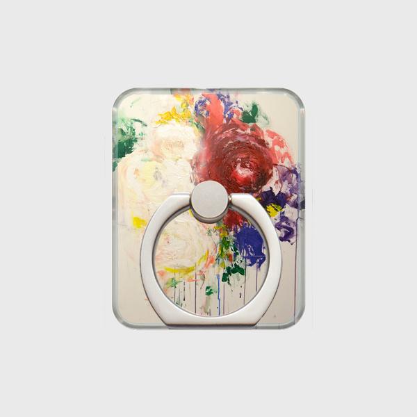 Floral / スマホリング