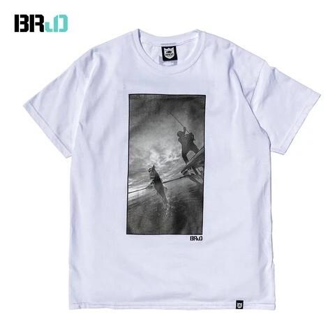 BRJD TEE #1 - WHITE/MONOCHROME