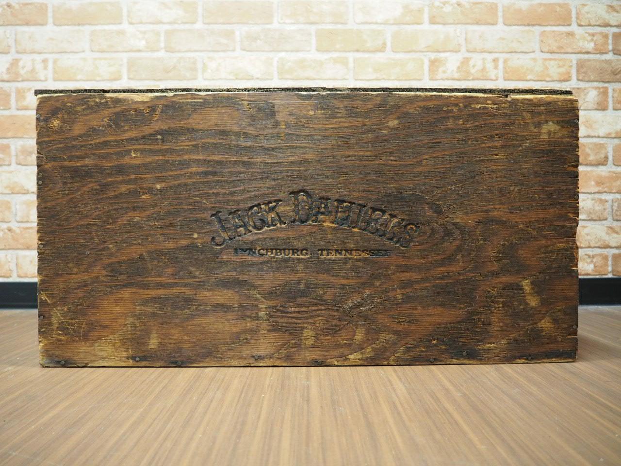 品番4582 木箱 ジャックダニエル  /  wooden box アンティーク 011