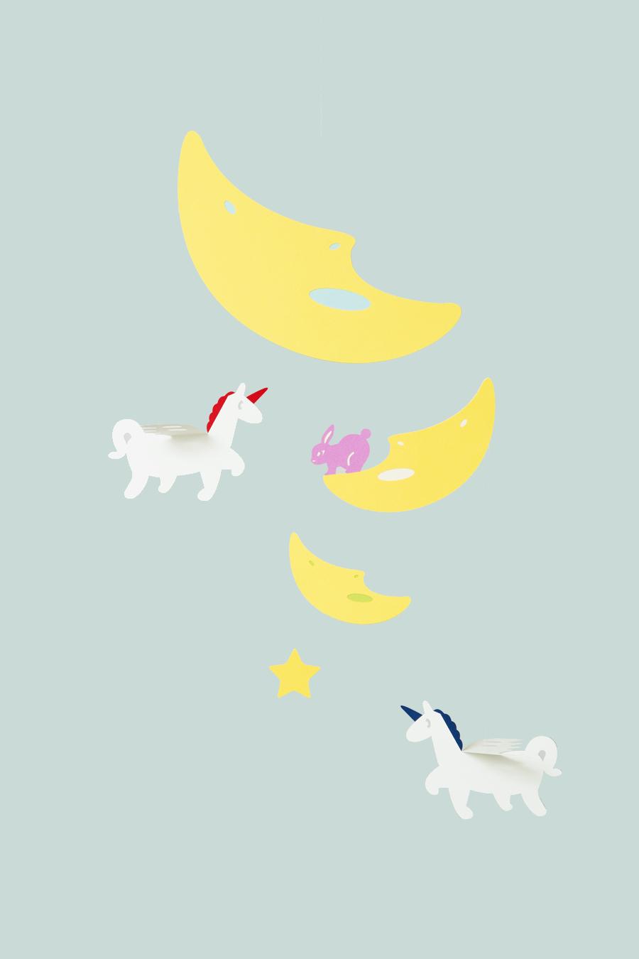 月と天馬ーAround the moonー