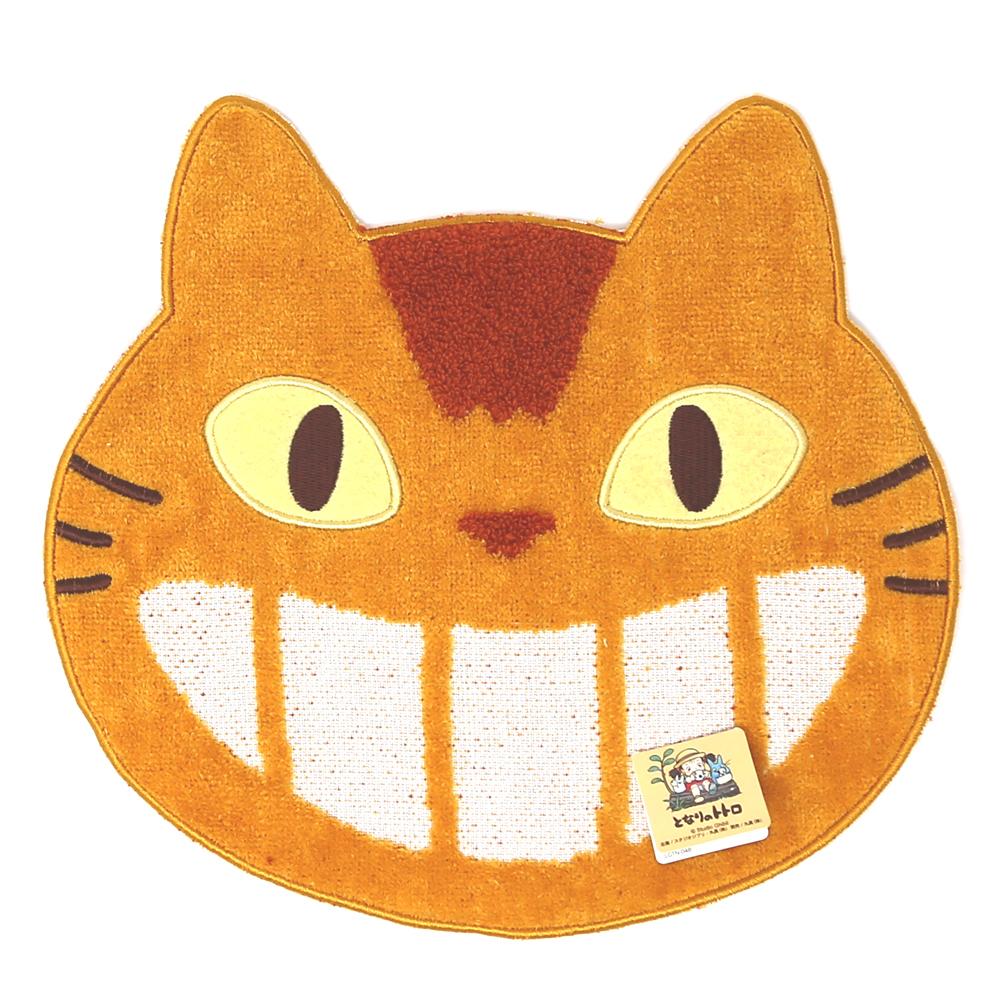 猫ハンドタオル(となりのトトロネコバス型ミニタオル)