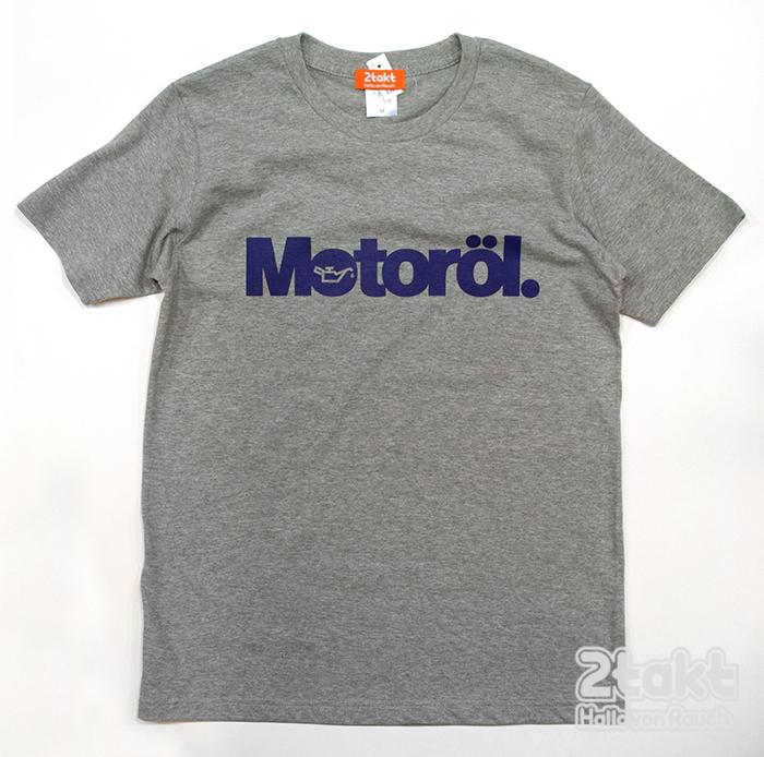 2takt T-shirt/Motoröl/Heather Grey