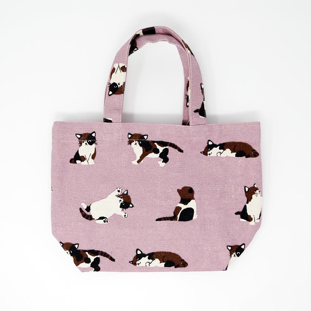 猫ミニトートバッグ(ちびっこみけ)