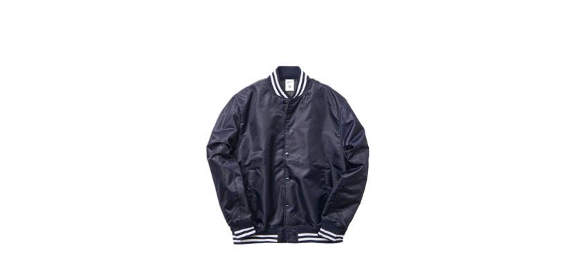 1991 stadium jacket (NVY/WH)