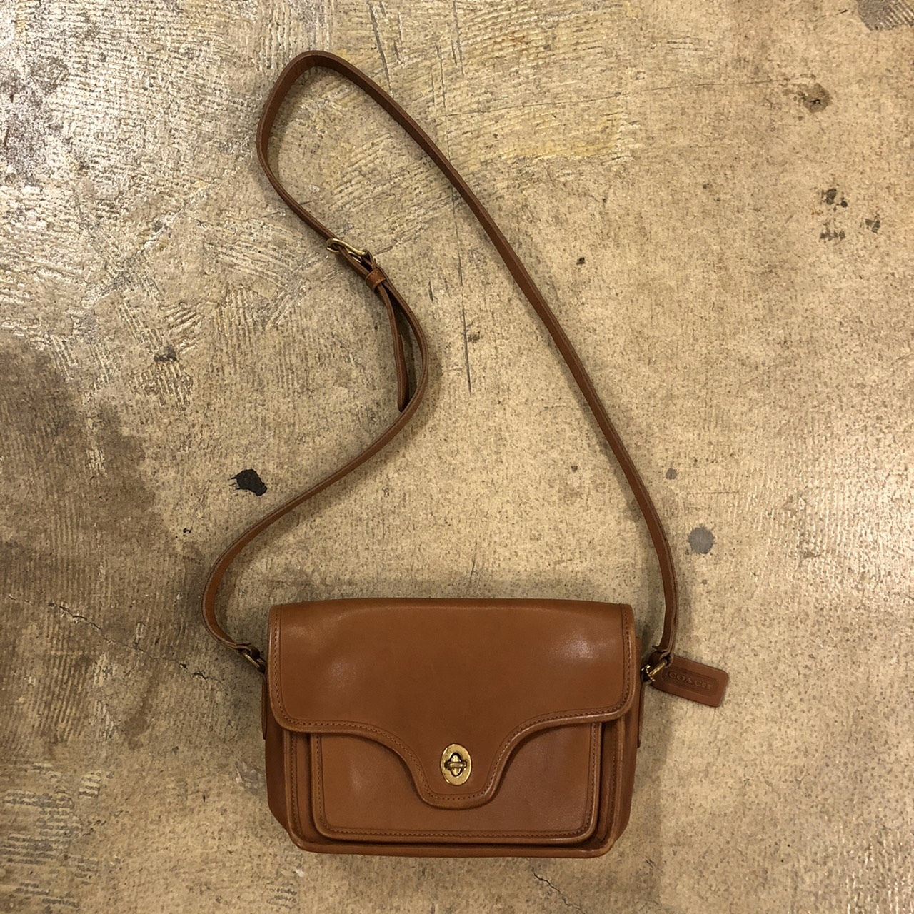 OLD COACH #Shoulder Bag Brown ¥11,800+tax