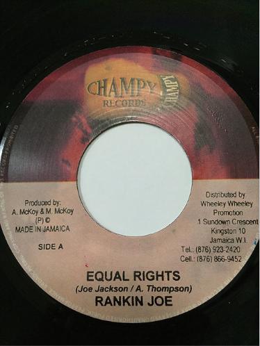 Ranking Joe(ランキンジョー) - Equal Rights【7'】