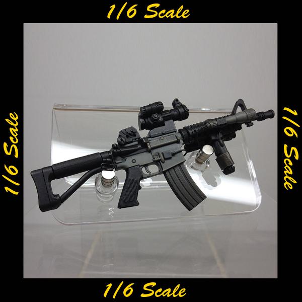 【00797】 1/6 ホットトイズ M4 ARFX ライフル