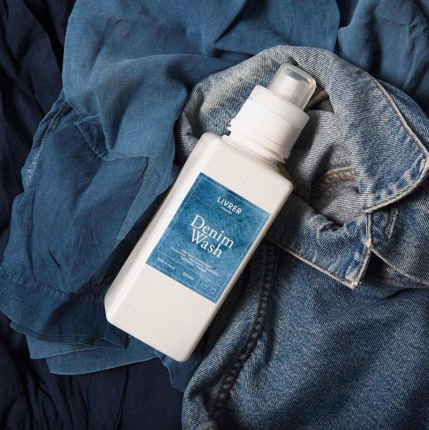 デニムウォッシュ/デニム、チノパン、シャツなど 洗濯用洗剤▶︎ Denim Wash 600mL