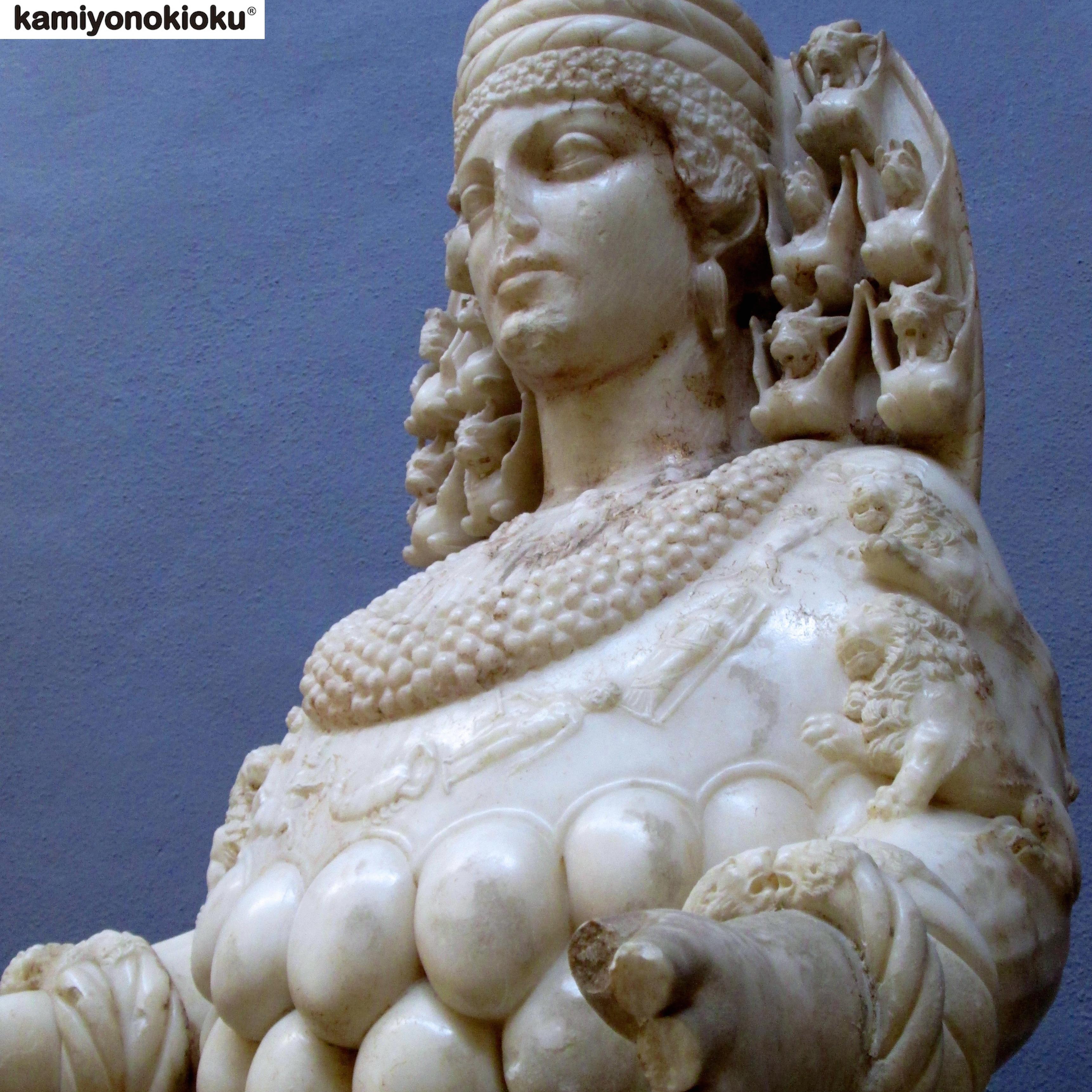 【ギリシャ神話】豊穣の地母神アルテミス像。エフェソス ...