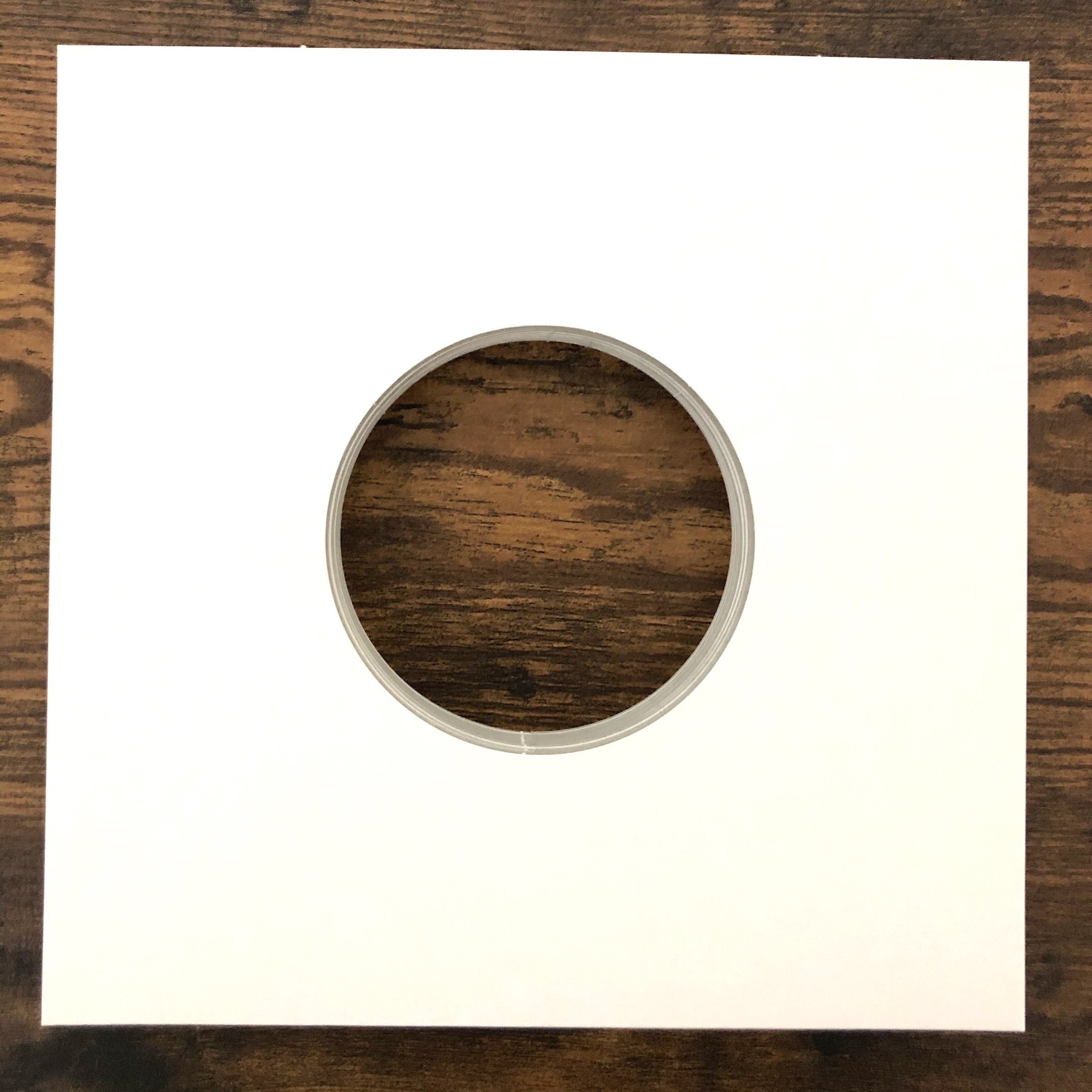 【国内最安値】7インチスリーブ(厚紙白色)×10枚【※当店でレコード購入者限定】