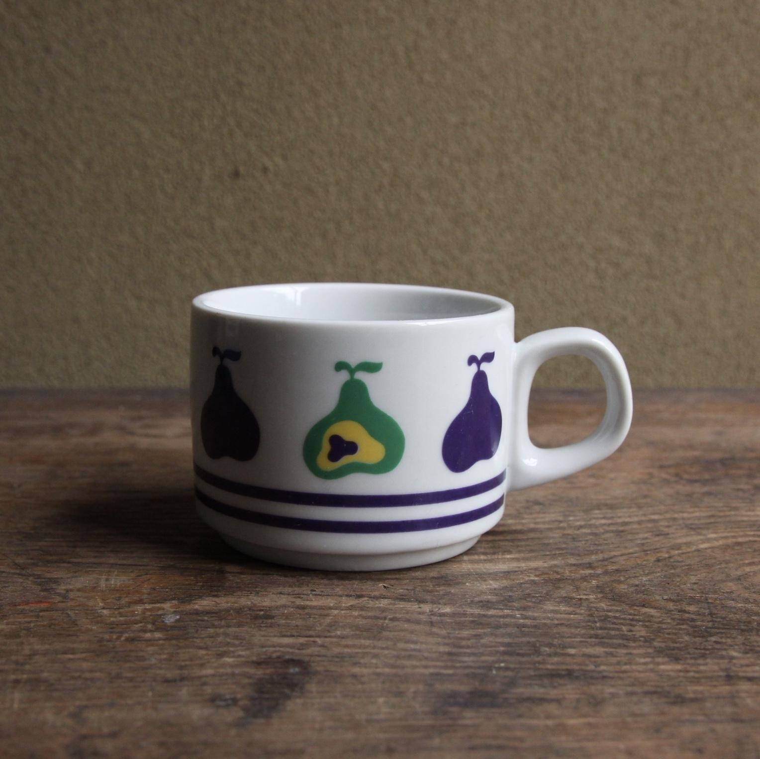 NT ノリタケ 洋梨のカップ 在庫2客